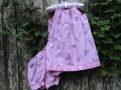 Infant top with bloomers size Large 1824 months by SharonsHomeSewn, $15.00