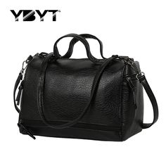 "HOT PRICES FROM ALI - Buy ""vintage casual PU leather handbag new fashion women tote bag ladies clutches famous travel brand shoulder motorcycle travel bags"" from category ""Sports & Entertainment"" for only USD. Tote Handbags, Cross Body Handbags, Leather Handbags, Crossbody Bags, Duffel Bag, Leather Bags, Branded Tote Bags, Bags Travel, Black Tote"