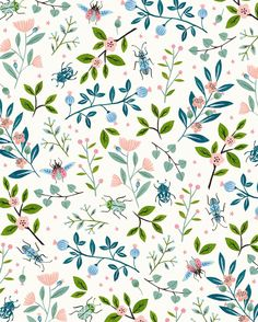 See this photo by o likes a flora pattern floral wallpaper flower iphone patterns . Floral Pattern Wallpaper, Flora Pattern, Plants Pattern, Pattern Print, Pretty Patterns, Flower Patterns, Flower Designs, Trendy Wallpaper, Wallpaper Backgrounds