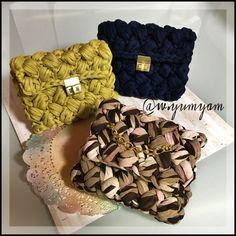 - ・ ・ ・ sold outThank you ・ ・ ・ Crochet Clutch, Crochet Handbags, Crochet Purses, Crotchet Bags, Knitted Bags, Cute Crochet, Knit Crochet, Yarn Bag, Girly Gifts