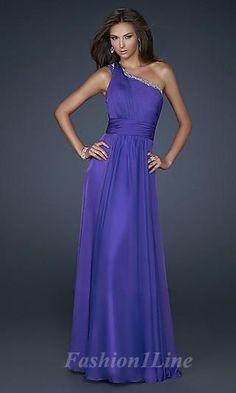 Column Elastic woven satin One-Shoulder Long Dress fashion03717