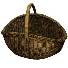 Large Gathering Basket - Chestnut Lane Antiques & Interiors - 1