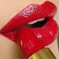#makeup #lips #red #