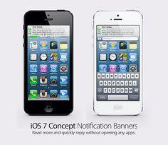 Concepto de iOS 7 con nuevo Dashboard [Vídeo]