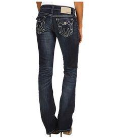 Mek Denim Oaxaca Slim Bootcut Jean in Dark Blue Dark Blue - Another favorite!