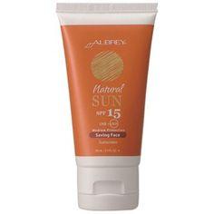 Aubrey Organics - Natural Sun SPF 15 Saving Face Unscentedproducts than you can imagine.