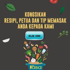 Buat Cucur Sedap Guna Lebihan Roti. Rangup & Sangat Mudah. - RASA Indonesian Desserts, Asian Desserts, Halal Recipes, Spicy Recipes, Cheesy Potato Wedges, Malay Food, Malaysian Food, Agar