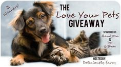The Love Your Pet Giveaway Ends 1/27 | Michigan Saving and More http://www.michigansavingandmore.com/love-pet-giveaway-ends-127/