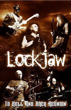 To Hell and Back Reunion LOCKJAW  with American Zeroes, TBA  Saturday, May 21, 2016 at 7:30pm  (doors scheduled to open at 6:30pm)  The Rave/Eagles Club - Milwaukee WI  All Ages to enter / 21+ to drink