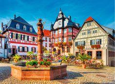 Puzzle Trefl Plaza del Mercado, Heppenheim Alemania de 3000 Piez