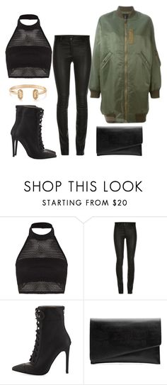 """""""Untitled #1481"""" by dani-gracik on Polyvore featuring Boohoo, ElleSD, Jeffrey Campbell, Witchery and Kendra Scott"""