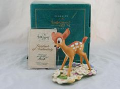 WDCC Purty Flower from Disney's Bambi in Box