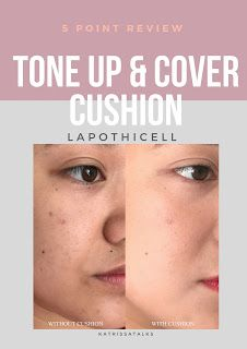 LAPOTHICELL Tone Up and Cover Cushion | 5 Point Review - Katrissa Talks #makeup #beautyblogger #beautyblog #blogging #makeupinspo #drugstoremakeup #budget #dupe #budget #best #koreanskincare #kbeauty #Lapothicell #toneup&Cover #bbCushion #abcommunity #skincare #makeup #koreanbeauty
