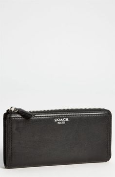 ede2ea05a3 COACH 'Legacy' Leather Wallet available at #Nordstrom Coach Legacy, Zip  Wallet,