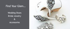 Find Your Glam... Wedding Shoes, Bridal Jewelry & Accessories For the Winter Bride #BlushVoxBox