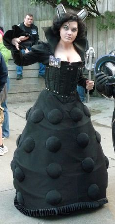 J'aimerais avoir cette robe! Dalek costume #drwho