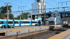 #trenes en la estacion de lomas de zamora