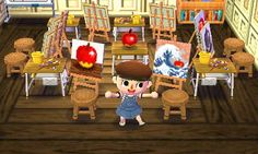 cookiimonstawr: I'm making an art school in Animal... - Animal Crossing