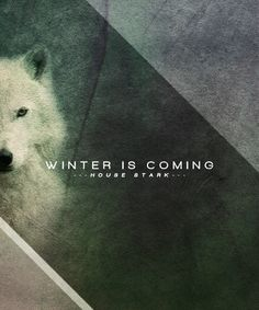 dragons and wolves — Game of Thrones House Posters