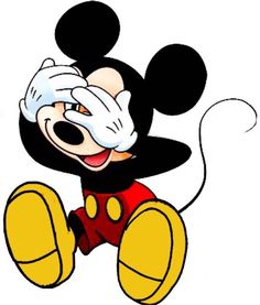 Mickey Mouse Peek a Boo Mickey Mouse Kunst, Mickey Mouse Cartoon, Mickey Mouse And Friends, Mickey Love, Baby Mickey, Mickey Birthday, Mickey Mouse Wallpaper, Disney Wallpaper, Disney And More
