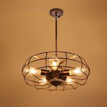 Moderne Loft Pendentif Lumière Applique Antique Edison Éclairage Plafond Lampe éclairage à la maison 5 * E27 Sockets Hauteur Réglable(China (Mainland))