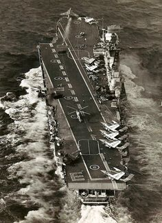 British Royal Navy Aircraft Carrier HMS Eagle post 1964 refit launching a Buccaneer Royal Navy Aircraft Carriers, Navy Carriers, British Aircraft Carrier, Hms Ark Royal, Navy Day, Capital Ship, British Armed Forces, Naval History, Flight Deck