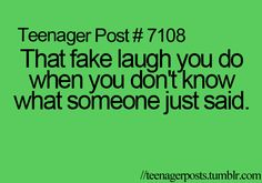 #fake #laugh