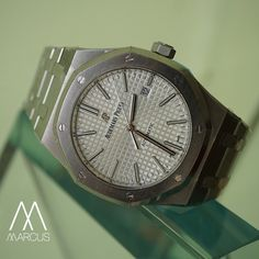 You can never go wrong with a classic Audemars Piguet Royal Oak in steel.