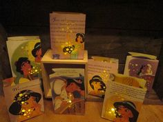 Luminaries Princess Jasmine Party Pack of 5 by Oldendesigns, $30.00 I got these for centerpieces at my daughters princess jasmine parties Aladdin Party, Aladdin Movie, Disney Family Movies, Family Movie Night, 8th Birthday, Birthday Party Themes, Birthday Ideas, Movie Party, Party Time