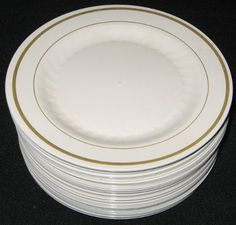 Maybe  family style . plastic plates via costco - look like china & 5 Shopping Tips for DIY Wedding Receptions and Other Big Parties ...