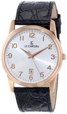 Relógio Le Chateau Men's 7076mrse_wht Classica Watch #Relógio #Le Chateau