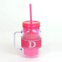 Pink Monogram D