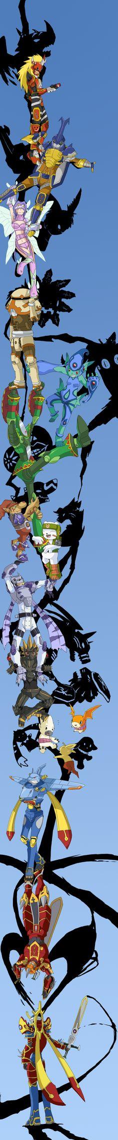 Digimon Frontier x Durarara by Garmmon.deviantart.com on @DeviantArt