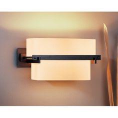 Kakomi Wall Sconce | Hubbardton Forge at Lightology 2 100 watt bulbs