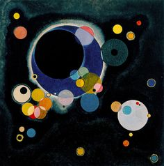 Several Circles | by Wassily Kandinsky c1926