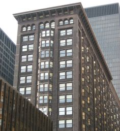 The Monadnock Building is one of the city's earlier skyscrapers and a textbook example of the Chicago School of Architecture. The landmark tower is unique in the sense that it was partially designed by both the Burnham & Root and Holabird & Roche firms.