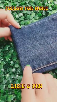 denim sewing projects free pattern - fun sewing project