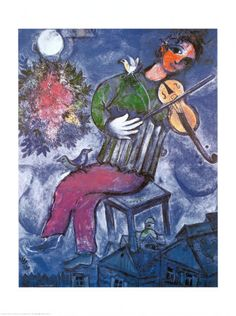 or this Chagall above the piano... ah maybe
