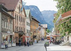 Garmisch-Partenkirchen - Garmisch-Partenkirchen features resort activities and popular hiking year round and skiing in the winter.