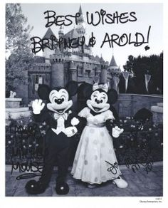 Response from Mickey and Minnie Mouse :  wedding Mickey And Minnie