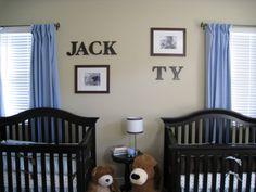 Twin boys nursery, This is the nursery room for our twin boys!, Nurseries Design