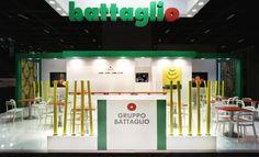 Gran Torino Design developed the new Gruppo Battaglio exhibition stand for the Fruit Logistica 2014 trade fair in Berlin.