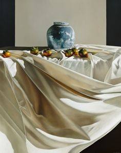 © Julie Davidson 2013Still Life with Chinese Bowl and PersimmonsOil on linen152 x 137 cm$8800 | Available