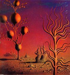 A 1972 Galaxy magazine cover by Luigi Castiglioni
