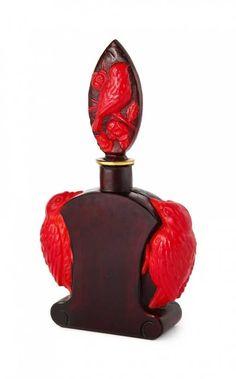 Lot: 1920s Ingrid- Czechoslovakian perfume bottle, Lot Number: 0055, Starting Bid: $1,500, Auctioneer: Perfume Bottles Auction, Auction: Perfume Bottles Auction, Date: April 29th, 2016 EDT
