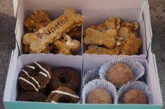 Winter Holiday Mixed Treat Box  Gourmet Dog Treat by PupsterBakery