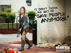The walking dead. I love Carol, her character development throughout the series is amazing. From a scared abused housewife to a tough and unyielding woman.