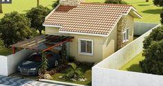 Confira projetos de casas pequenas com 2 quartos pelos melhores preços.