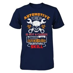 Automotive Technician - Post Apocalyptic Survival Skill - Shirts