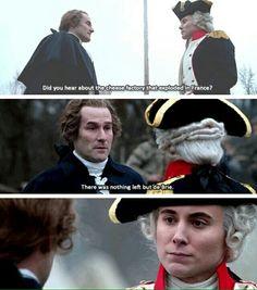Tee hee. Washington and Lafayette funny